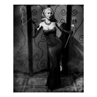Noir Siren Poster