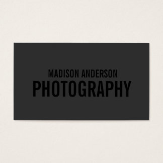 Noircissez les cartes de visite de la photographie