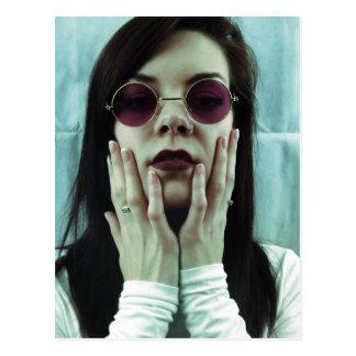 'Noise' by Sonni 'Velvet' Carpenter. Postcard