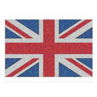 Noisy Union Jack Postcard