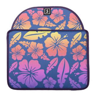 Noitebook Flowery Juice in the Havai Sleeve For MacBooks