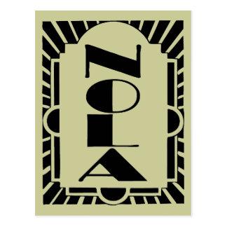 NOLA Art Decco Design Postcard