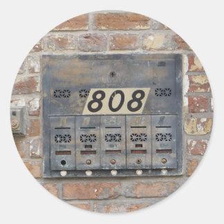 NOLA Bangs Like an 808 Classic Round Sticker