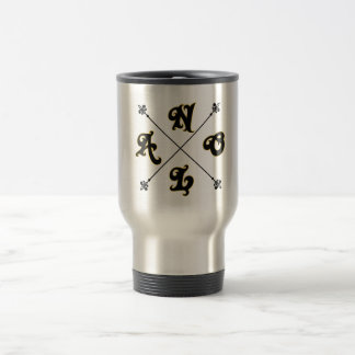 NOLA Cross Code Travel/Commute Mug
