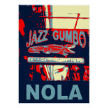 NOLA Jazz and Gumbo Print
