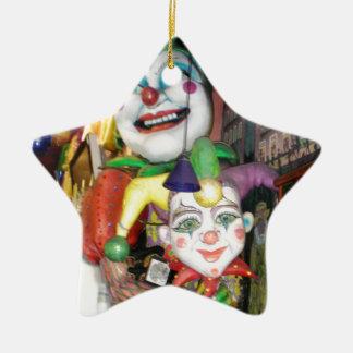 NOLA Mardi Gras Ceramic Ornament