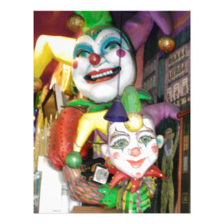 NOLA Mardi Gras Customized Letterhead