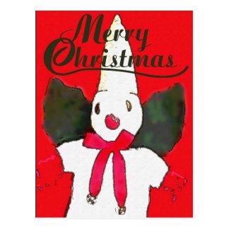 NOLa Snowman Card