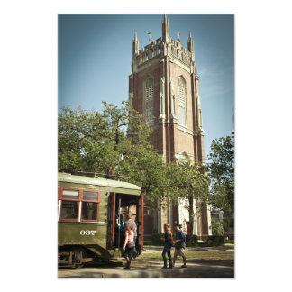 NOLA Streetcar Photo Print