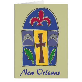 NOLA Symbols, New Orleans Card