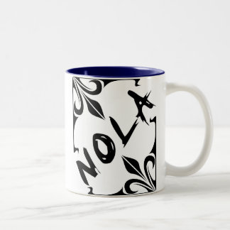 NOLA Two-Tone COFFEE MUG