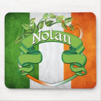 Nolan Irish Shield Mouse Pad