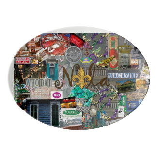 NolaOriginals 2014 Collage Art Platter