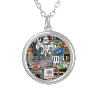 NolaOriginals 2015 Collage Silver Plated Necklace