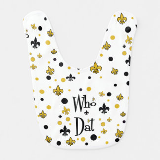 NolaOriginals Who Dat Bib