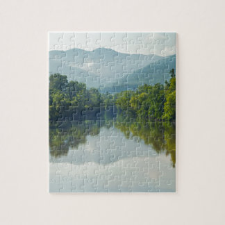 Nolichucky River in East Tennessee Jigsaw Puzzle