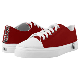 """# """" Nollie"""" red Sneakers for Skater"""