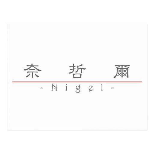 Nom chinois pour Nigel 20749_2.pdf Carte Postale