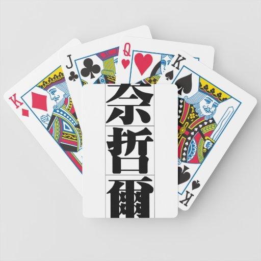 Nom chinois pour Nigel 20749_3.pdf Jeu De Cartes