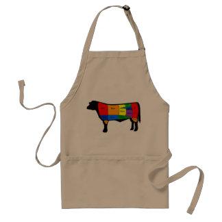 Nom Cow Apron