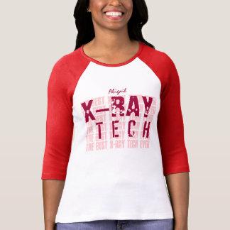 Nom et sentiment faits sur commande A01 de TECH du T-shirt