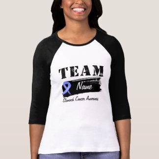 Nom fait sur commande d'équipe - cancer de t-shirts