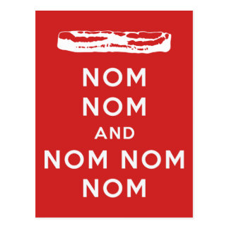 Nom Nom and Nom Nom Nom Postcard