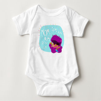Nom Nom Nom! Monster Baby bodysuit