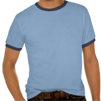 Nom Nom Nom Monster Ringer T-Shirt, Blue