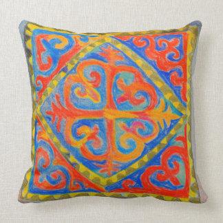 Nomadic element throw pillow