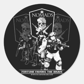 Nomads Moto Stickers
