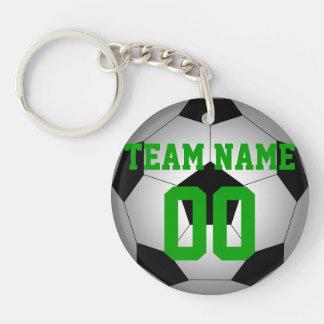 Nombre de nom d'équipe de ballon de football porte-clef