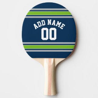 Nombre nommé fait sur commande du Jersey de sports Raquette Tennis De Table