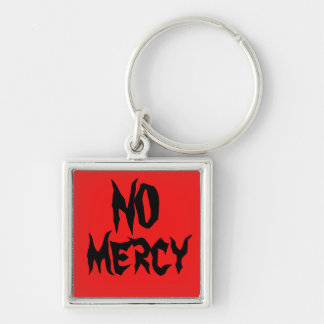 nomercy keychain red and black