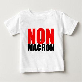 NON à MACRON Baby T-Shirt
