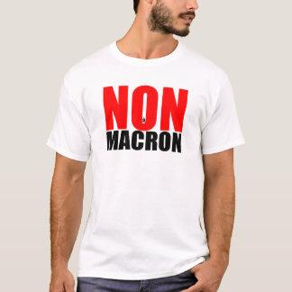 NON à MACRON men Tee