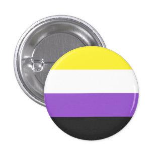 non-binary flag pin