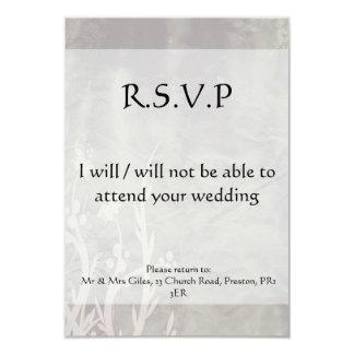non défini carton d'invitation 8,89 cm x 12,70 cm