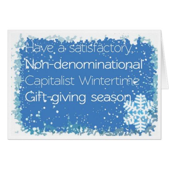 Non-denominational Christmas Card
