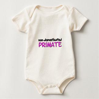 non-domesticated primate (1) baby bodysuit