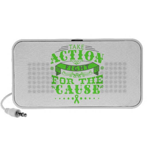 Non-Hodgkin's Lymphoma Take Action Fight Mini Speaker