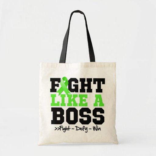 Non-Hodgkins Lymphoma Fight Like a Boss Tote Bags