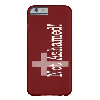 Non honteux ! 1h16 de Romains (avec la croix) Coque Barely There iPhone 6