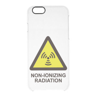 Non Ionizing Radiation Clear iPhone 6/6S Case