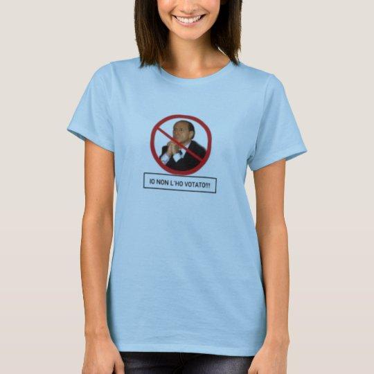 non l ho votato T-Shirt