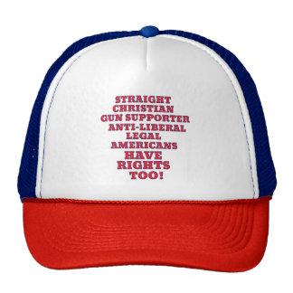 Non Liberal Rights Hats Caps