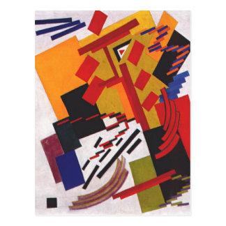 Non-Objective Composition by Olga Rozanova Postcard