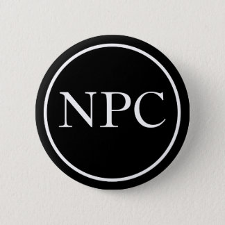 Non-Player Character 2 Inch Round Button
