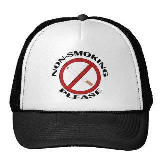 Non-Smoking, Please Trucker Hat