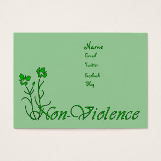 Non-Violence Business Card